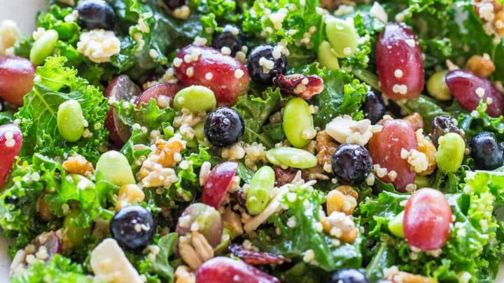 12 Superfood Salad Healthy Salad Recipe Averie Cooks