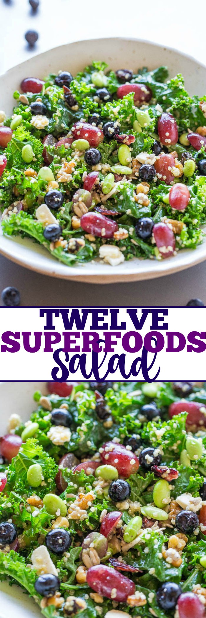 Twelve Superfoods Salad Averie Cooks
