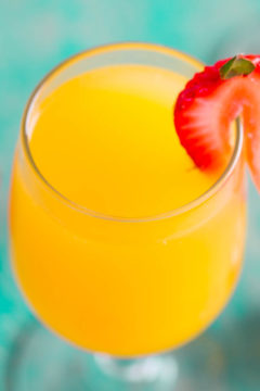 Tropical Mango Mimosas