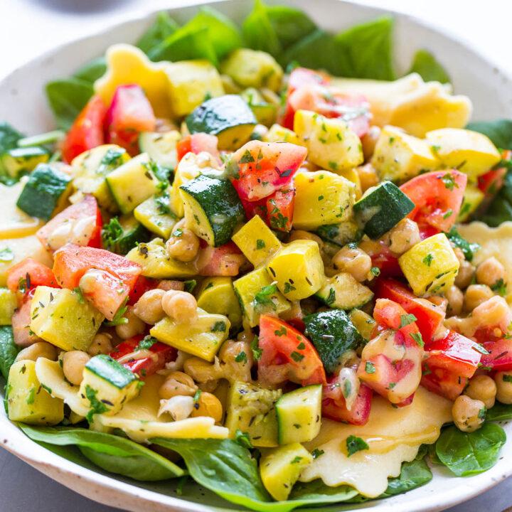 Summer Ravioli Salad