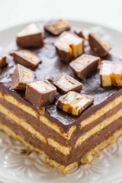 Chocolate Candy Bar Icebox Cake