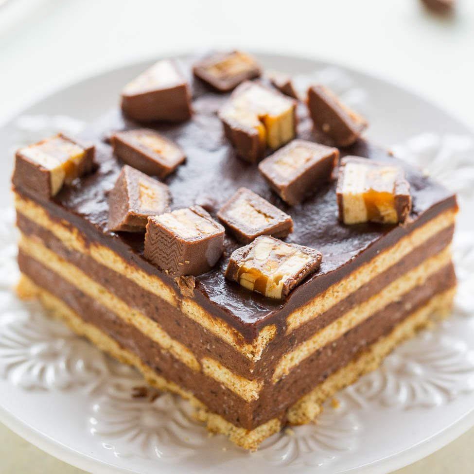 Averie Cooks Boston Cream Icebox Cake