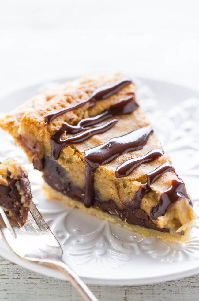 Copycat Toll House Pie (aka Chocolate Chip Pie)