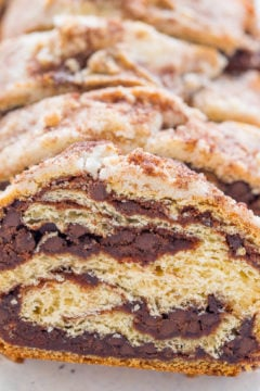 Chocolate Rollup Bread