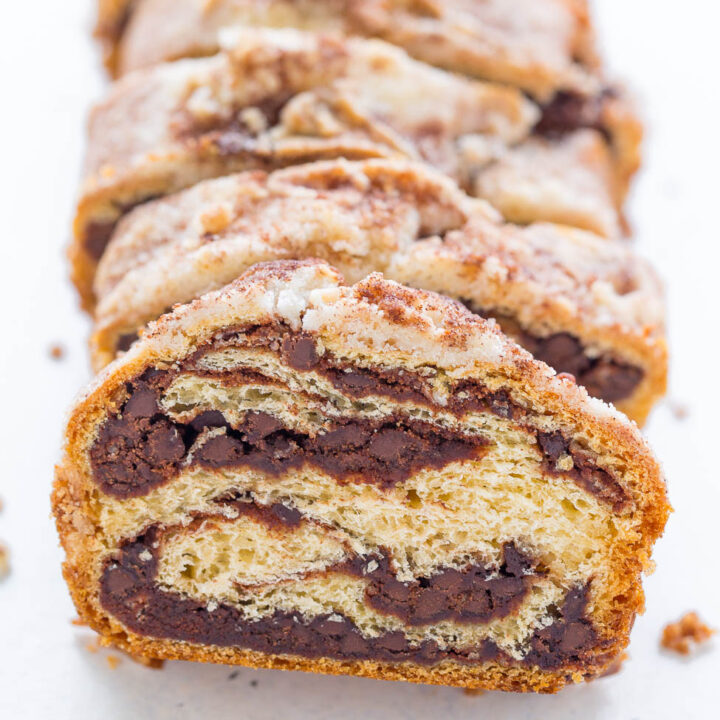 Chocolate Rollup Bread