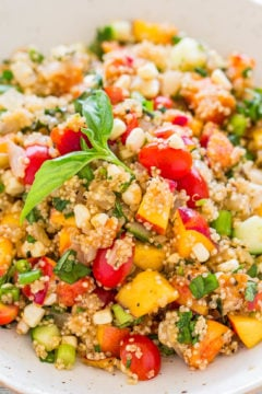Garden Fresh Quinoa Salad