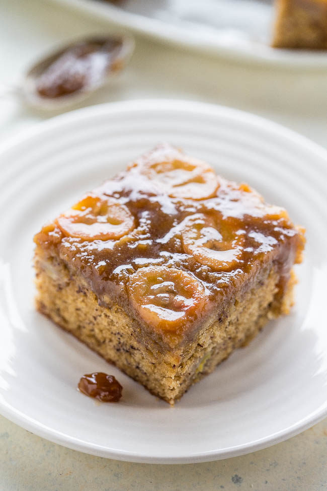 Upside-Down Banana Bread Cake