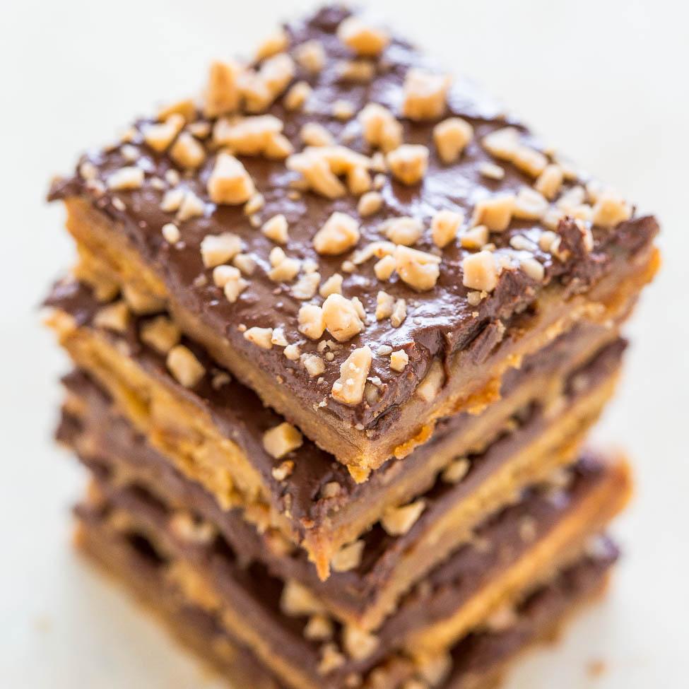 Graham Cracker Toffee Aka Graham Cracker Crack Averie