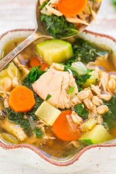 Easy 30-Minute Chicken Vegetable Soup