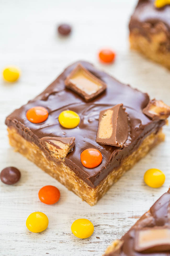 Chocolate Peanut Butter Candy Bars