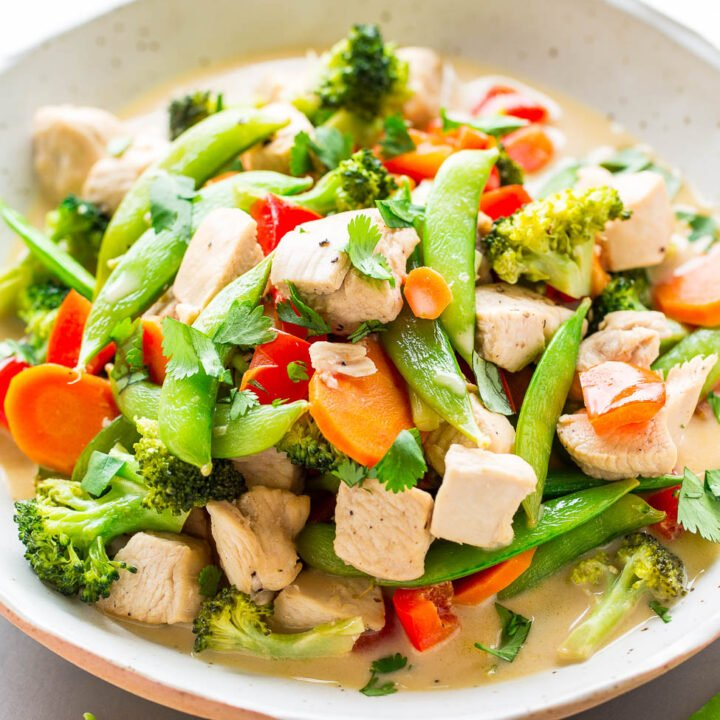 Thai Coconut Chicken Stir Fry
