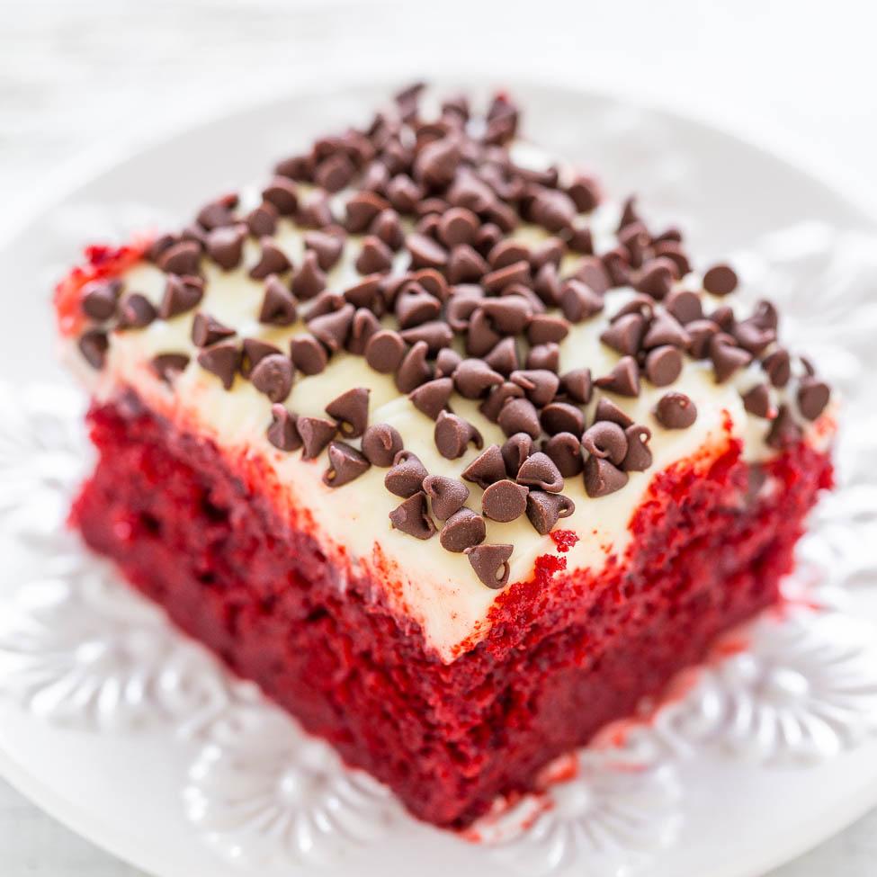 Red Velvet Cake With Butter