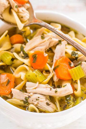 Easy 30-Minute Turkey Noodle Soup