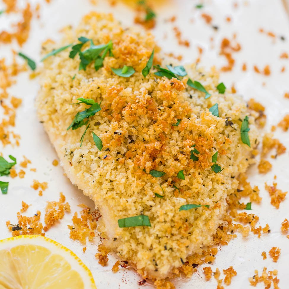 Baked Parmesan-Crusted Chicken