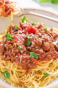 15-Minute Easy Spaghetti