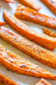 Curry Coconut Oil Sweet Potato Fries with Cucumber Dill Dip