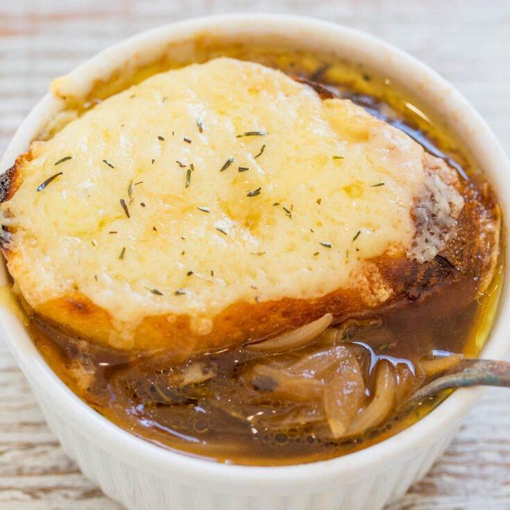 Easy One-Hour French Onion Soup