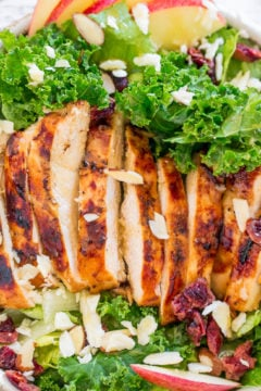 Apple, White Cheddar, and Grilled Chicken Salad