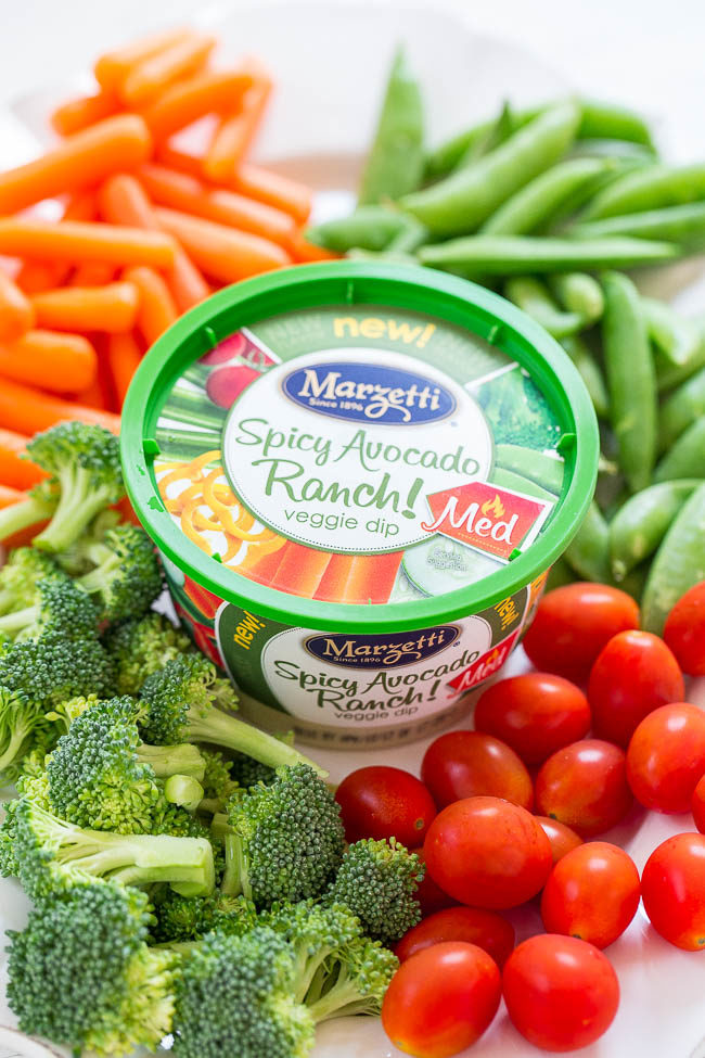Ranch Dip with Vegetables