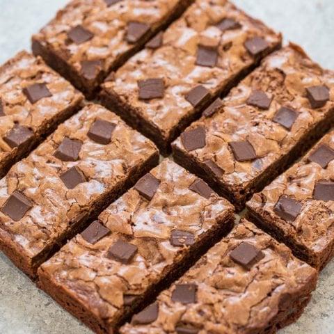 Starbucks Double Chocolate Brownies {Copycat Recipe}
