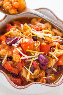 Easy 30-Minute Turkey Chili