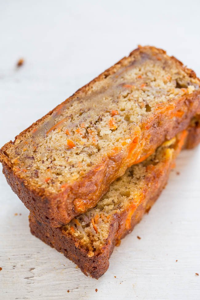 Apple Carrot Bread