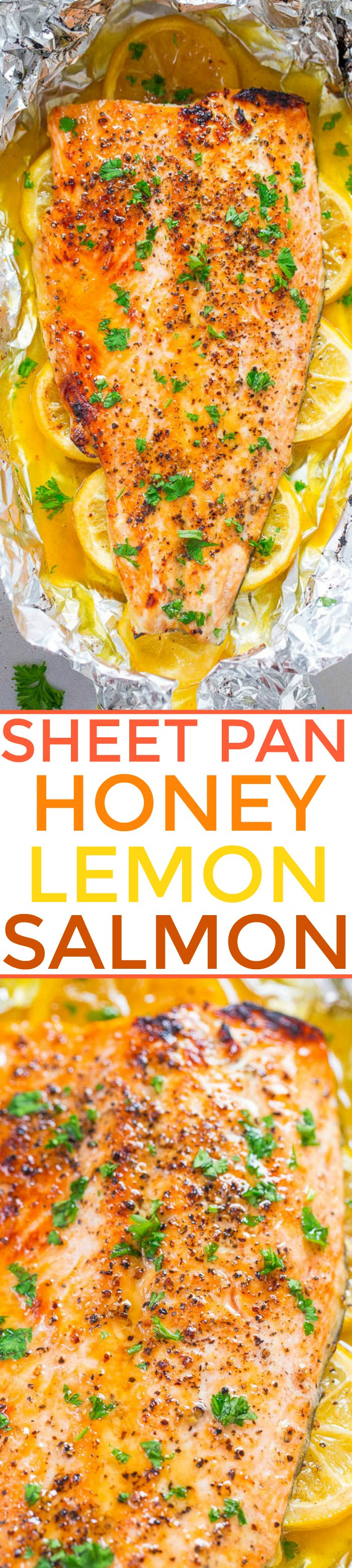 Honey Lemon Salmon Recipe