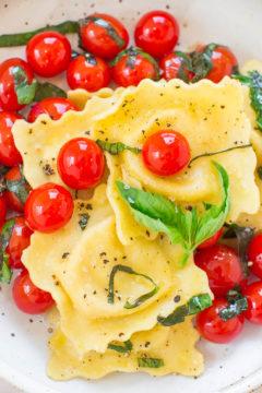 Italy Recap + Tomato Basil Cheese Ravioli