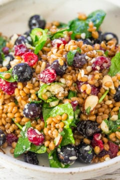 Spinach Blueberry Superfoods Salad