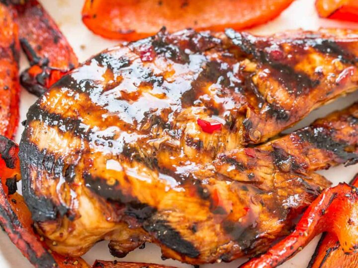 Grilled Sweet Chili Chicken Recipe Averie Cooks