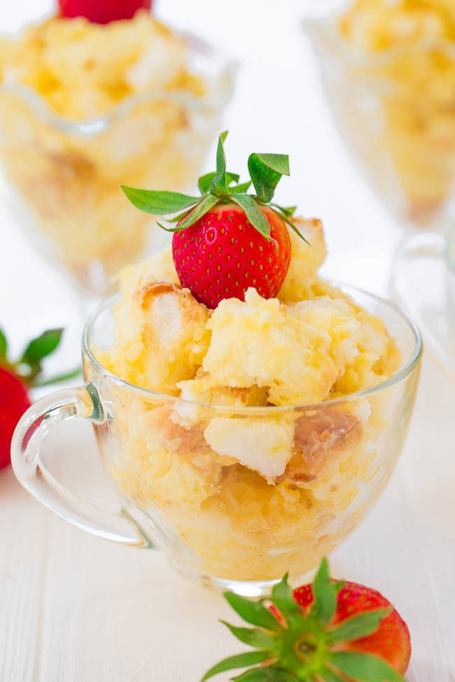 Angel Pineapple Lush Parfaits