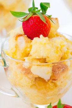 Angel Pineapple Lush Parfaits