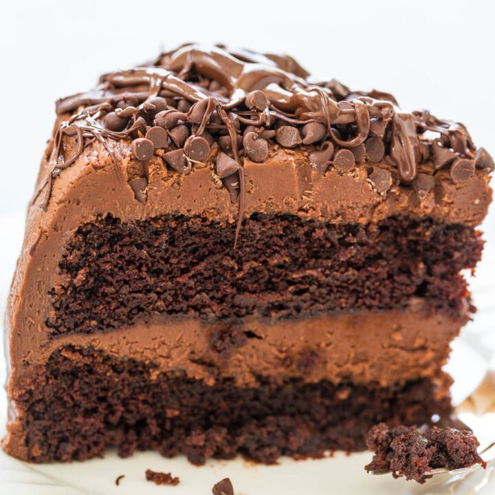 The Best Triple Chocolate Cake