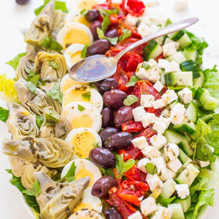 Mediterranean Cobb Salad