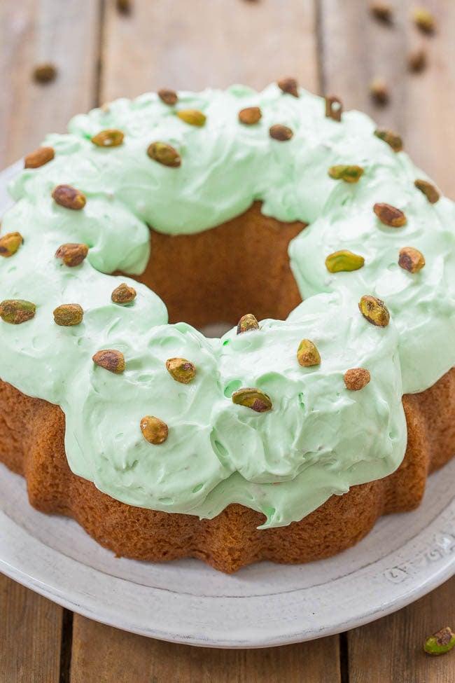 Orange Pistachio Cake Gluten Free