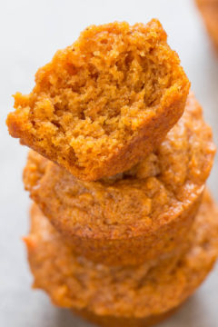 Skinny Mini Sweet Potato Muffins