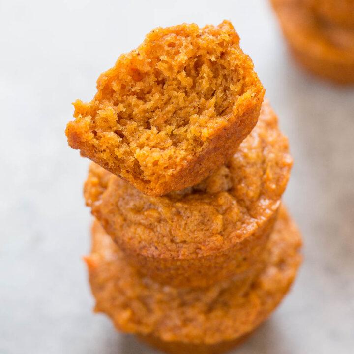Skinny Mini Sweet Potato Muffins