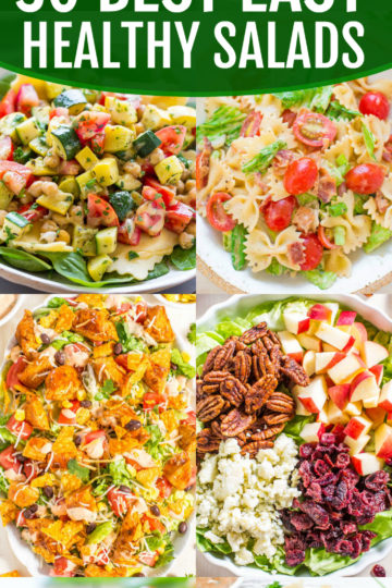 30 Best Easy Healthy Salads