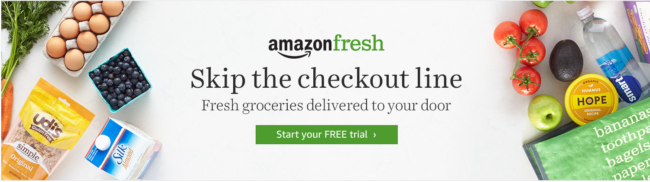 Amazon Fresh $100 Summer Sizzler Giveaway - Skip the checkout lines, parking lots, running around, and have groceries delivered to your door!! Enter to win a $100 gift card to try out the most CONVENIENT way to shop!!