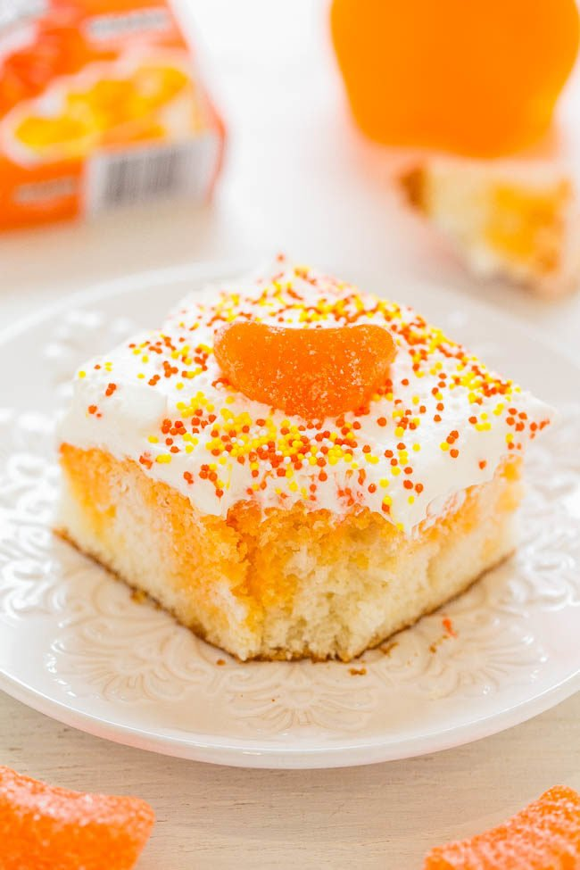 orange crush cake orange crush poke cake averie cooks 6270