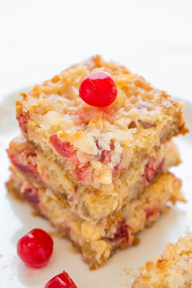 Pina Colada Seven Layer Bars