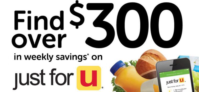 Image banner of grocery cart savings