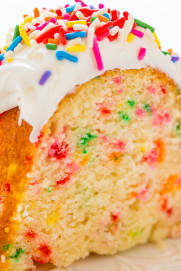 Easy Homemade FUNFETTI®-Inspired Bundt Cake