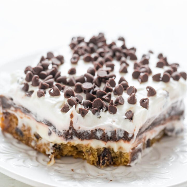 Chocolate Chip Cookie Chocolate Lasagna