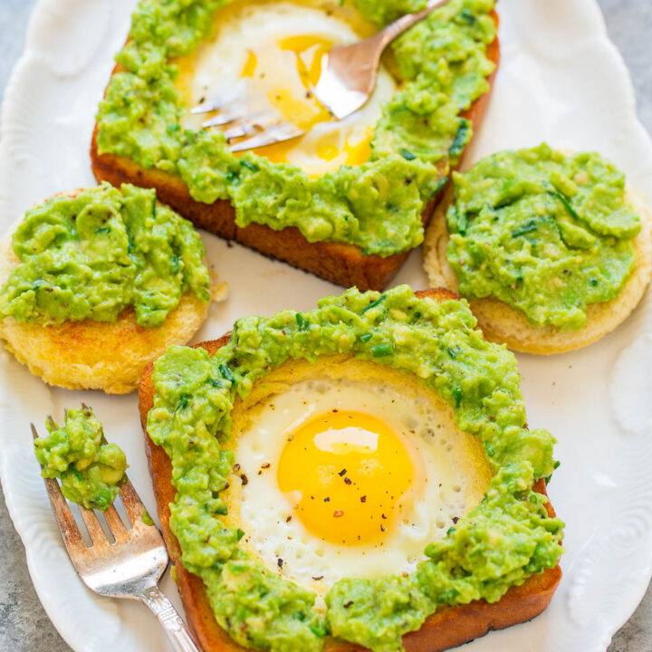 Egg in a Hole / Avocado Toast with Egg