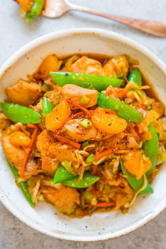 Mandarin Orange Chicken Stir-Fry