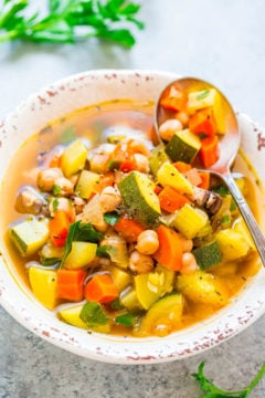 Reset Vegetable Soup