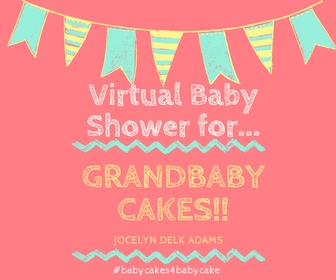 Graphic image for a virtual baby shower