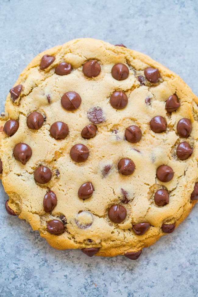 one bowl no mixer no chill extra large chocolate chip cookie for rh averiecooks com cookidoo cookies entfernen