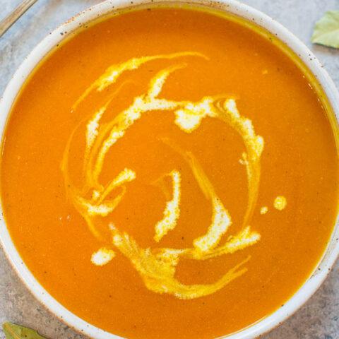 Easy 30-Minute Pumpkin Soup